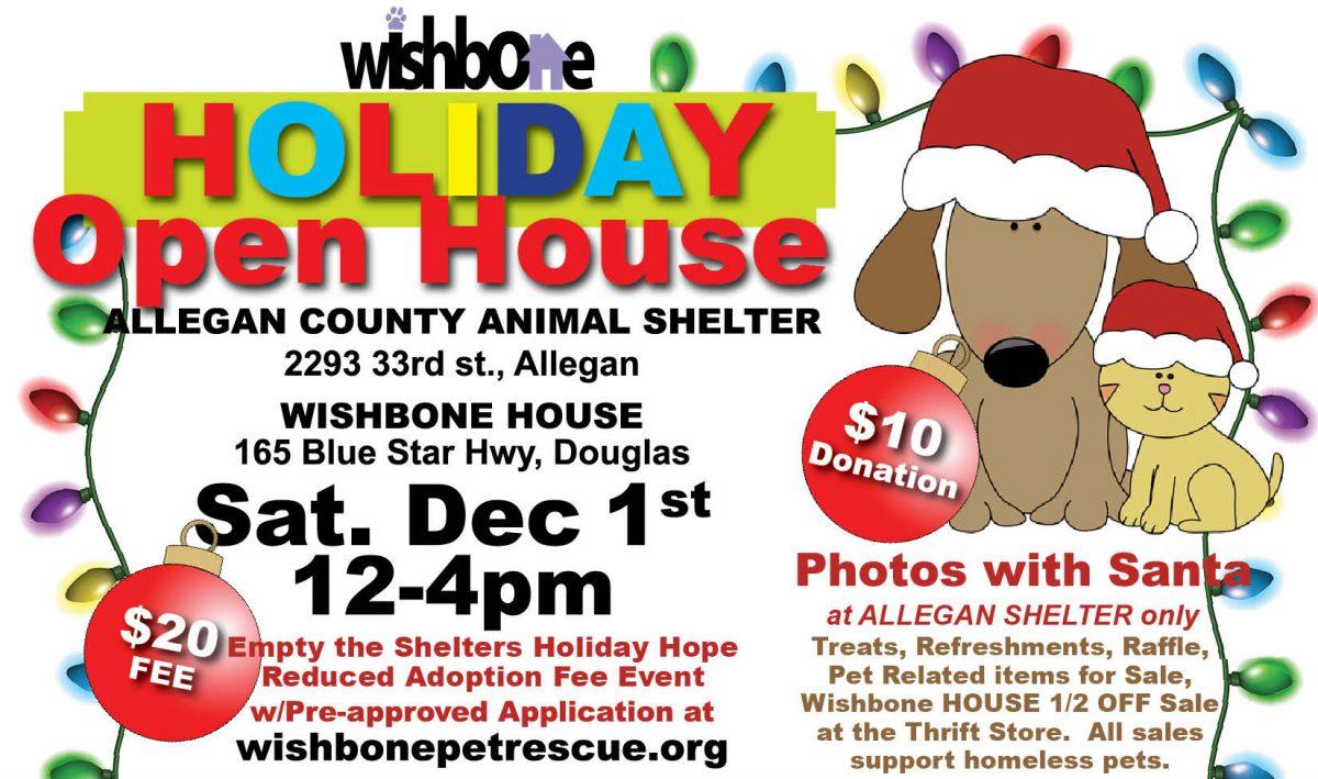 Wishbone Pet Shelter Holiday Open House 2018