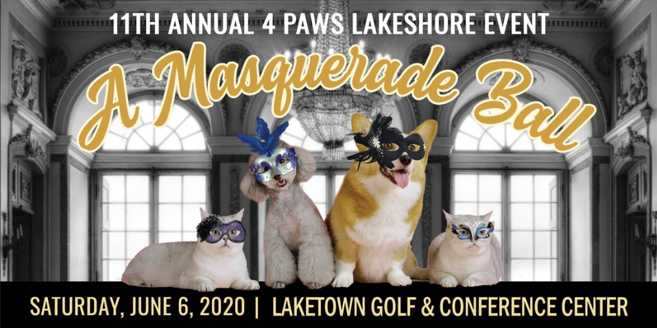4 Paws Lakeshore event 2020