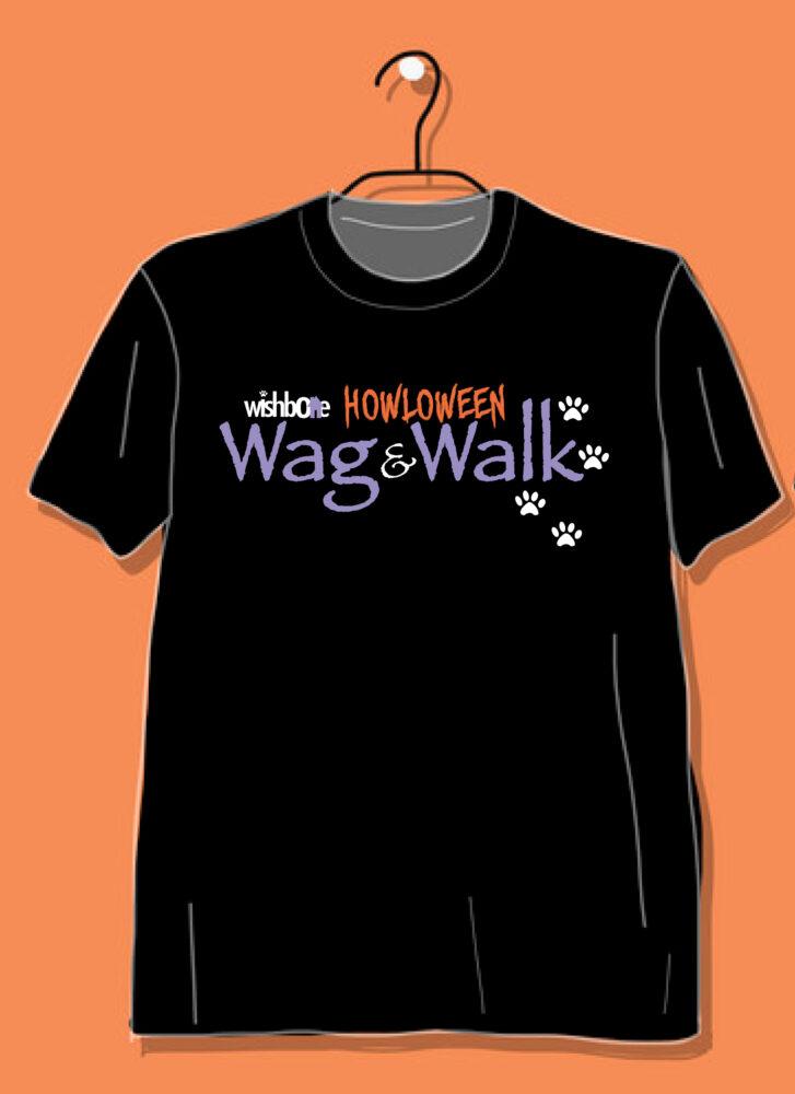 2020 wag & walk tshirt
